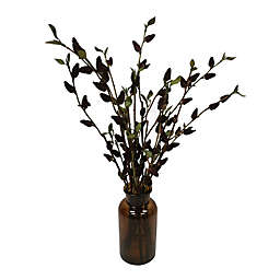 Bee & Willow™ 16-Inch Faux Pussy Willow in a Glass Jar Arrangement