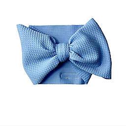 The Mini Prep Size 0-3M Isla Stretch Wrap in Light Blue
