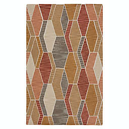 Vibe by Jaipur Living Sade 8' x 10' Handcrafted Area Rug in Orange/Gold