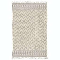 Jaipur Living Cidra 8' x 10' Handcrafted Area Rug in Grey/Cream