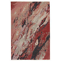 Vibe by Jaipur Living Emeline 5' x 7'6 Area Rug in Pink/Red