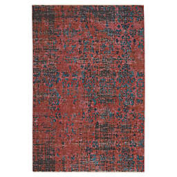 Vibe by Jaipur Living Ezlyn 5' x 7'6 Area Rug in Teal/Red