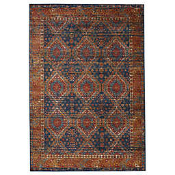 Vibe by Jaipur Living Quillen Area Rug in Blue/Red