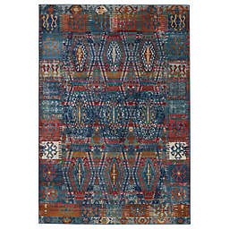 Vibe by Jaipur Living Miron Area Rug in Blue/Red