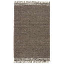 Jaipur Living Sunday 5' x 8' Handwoven Wool Area Rug in Grey/Light Brown