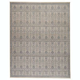 Jaipur Living Winsome Beaumont 7'10 x 9'10 Area Rug in Blue/Cream