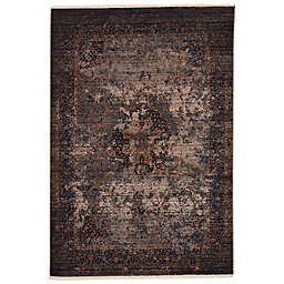 Vibe by Jaipur Living Enyo Area Rug in Blue/Gold