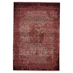 Vibe by Jaipur Living Enyo Area Rug in Red/Pink