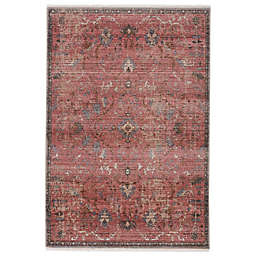 Vibe by Jaipur Living Marcella Area Rug in Pink/Grey