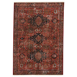 Vibe by Jaipur Living Razia 5' x 8' Area Rug in Red/Black