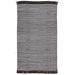 Jaipur Living Savvy 5' x 8' Indoor/Outdoor Area Rug in Grey/Black