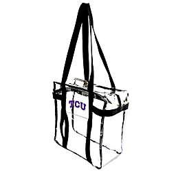 Texas Christian University Clear Tote Along Bag