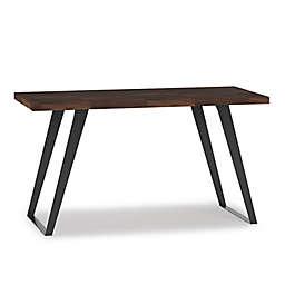 Simpli Home™ Lowry Flat Top Desk in Charcoal Brown