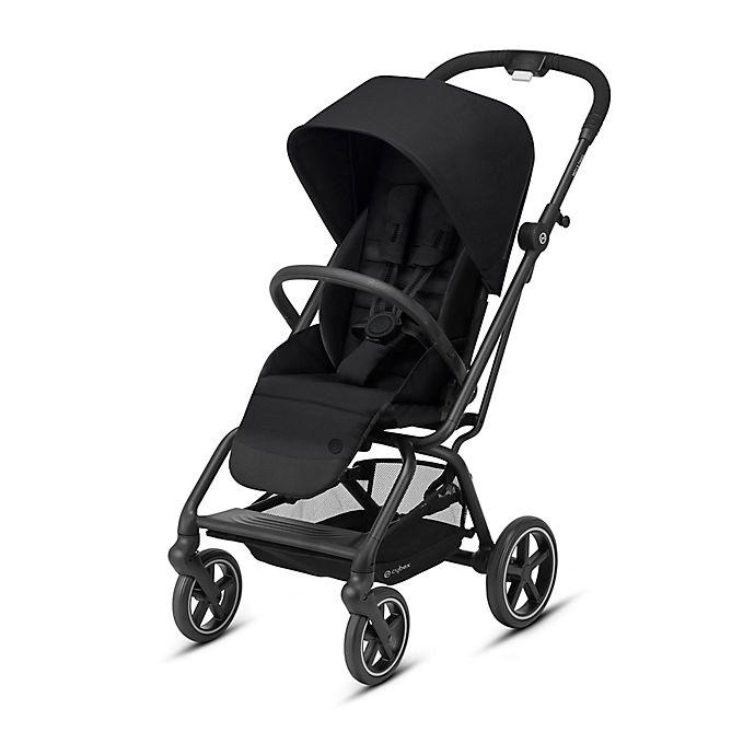Alternate image 1 for CYBEX Eezy S Twist+ 2 Single Stroller in Black