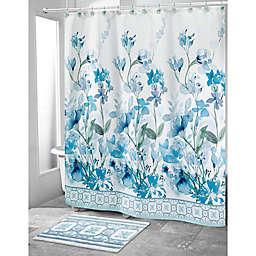 Avanti 72-Inch x 72-Inch Garden View Shower Curtain in White