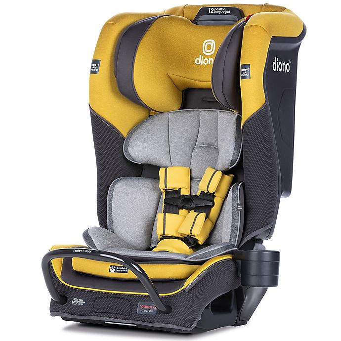 Alternate image 1 for Diono radian® 3QX Ultimate 3 Across All-in-One Convertible Car Seat