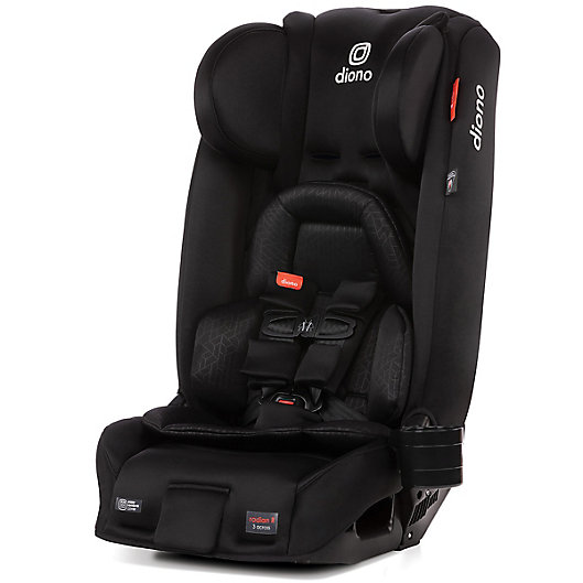 Alternate image 1 for Diono™ Radian 3 RXT All-In-One Convertible Car Seat in Black