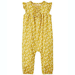 carter's® Floral Jumpsuit in Mustard