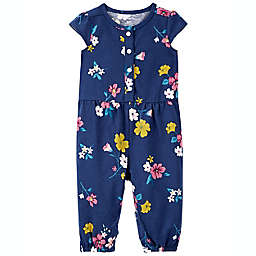 carter's® Floral Jumpsuit in Blue