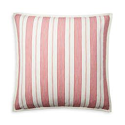 Lauren Ralph Lauren Maddie European Pillow Shams in Red/Cream (Set of 2)