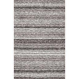 nuLOOM Drey Ombre 5' x 8' Shag Area Rug in Grey/Multicolor