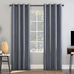 Sun Zero® Enzi Draft Shield Total Blackout Grommet Window Curtain Panel (Single)
