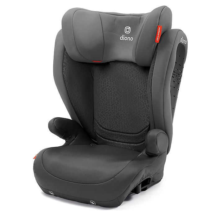 Alternate image 1 for Diono® Monterey® 4DXT Expandable Booster Seat in Dark Grey