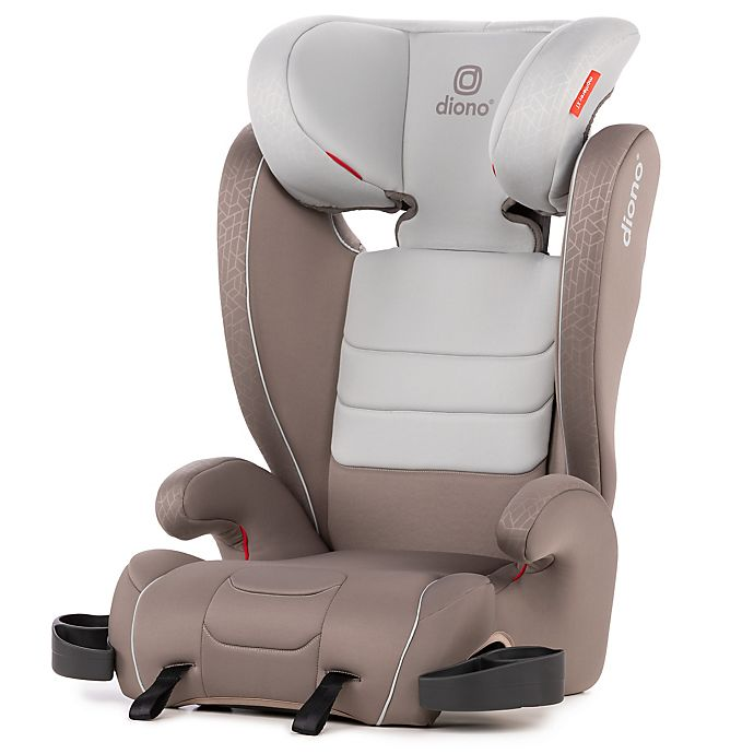 Alternate image 1 for Diono® Monterey XT LATCH Booster Seat in Oyster Grey