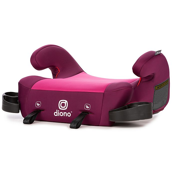 Alternate image 1 for Diono® Solana 2 Backless Booster Car Seat in Pink