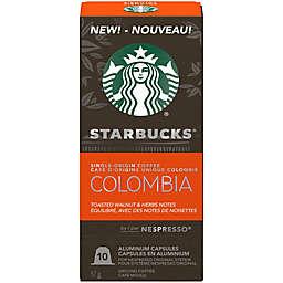 Starbucks® by Nespresso® Single-Origin Colombia Coffee Capsules 10-Count