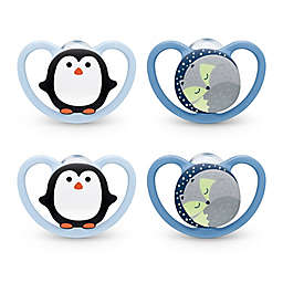 NUK® Space™ 4-Pack Orthodontic Pacifier
