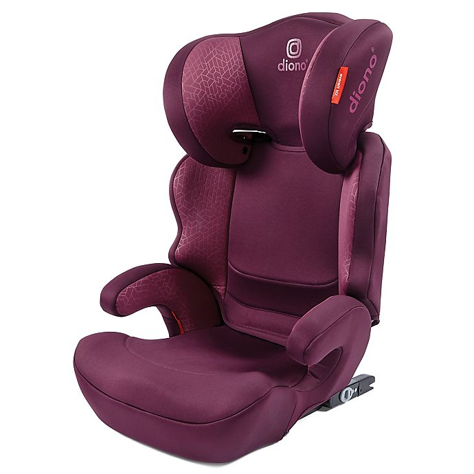 Alternate image 1 for Diono® Everett NXT Highback Car Booster Seat in Plum