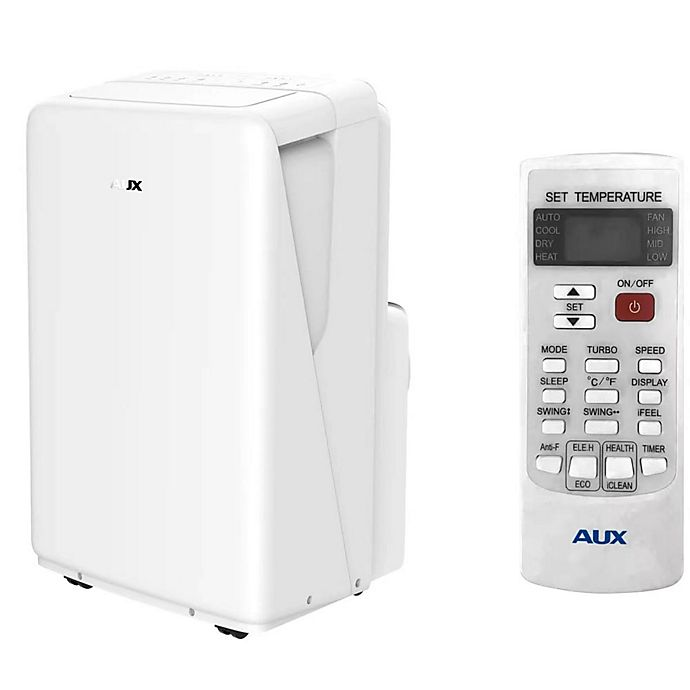 Alternate image 1 for AUX 13,000 BTU Portable Air Conditioner/Dehumidifer in White