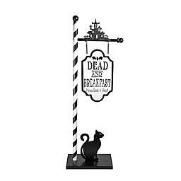 Dead & Breakfast 40-Inch Outdoor Porch Sign