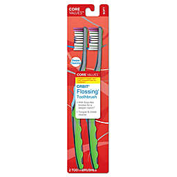 Harmon® Core Values™ 2-Pack Orbit® Flossing® Toothbrushes