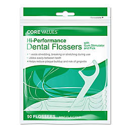 Harmon® Face Values™ 90-Count Hi-Performance Dental Flossers in Mint Flavor