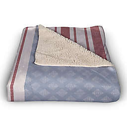Welcome Flag 50x60 Throw Blanket