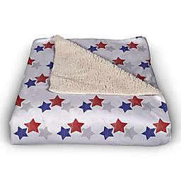Retro USA Pattern 50x60 Throw Blanket