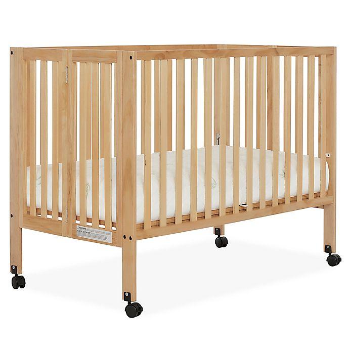 Alternate image 1 for Dream On Me Quinn 2-in-1 Portable Full Size Folding Crib