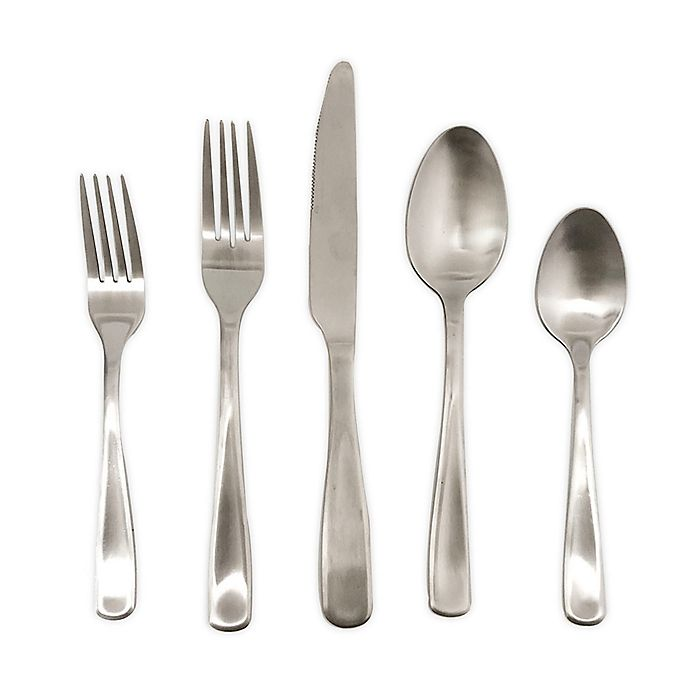 Alternate image 1 for Simply Essential™ 20-Piece Stainless Steel Polished Flatware Set