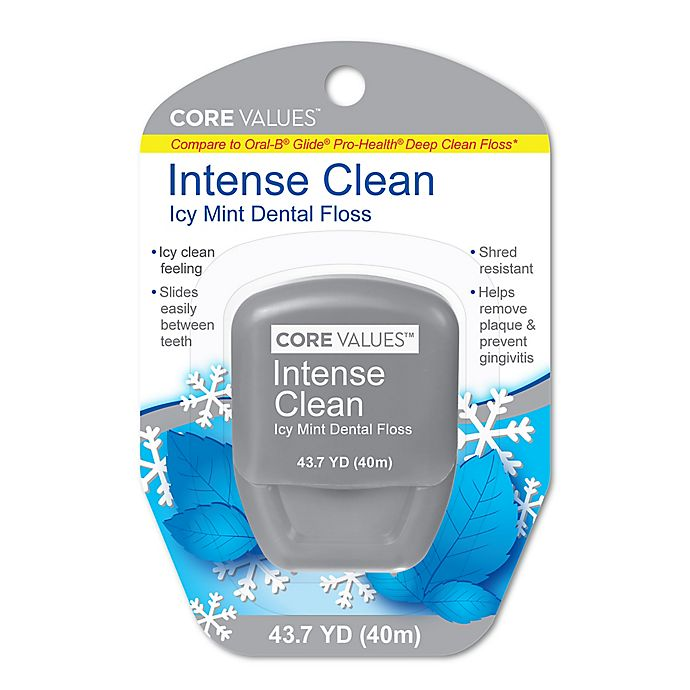 Alternate image 1 for Harmon® Face Values™ Intense Clean 43.7 Yards Icy Mint Floss