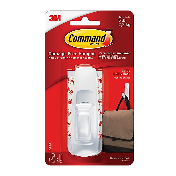 Alternate image 1 for 3M Command™ Large Hook
