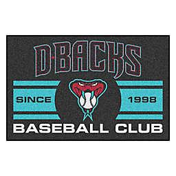 """MLB Arizona Diamondbacks 19"""" x 30"""" Snake Uniform Mat"""