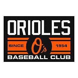 """MLB Baltimore Orioles 19"""" x 30"""" Script Uniform Mat"""