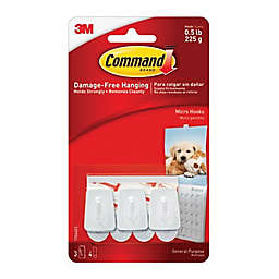 3M Command™ 3-Count Micro Hooks