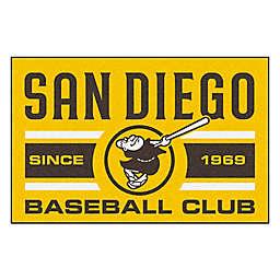 "MLB San Diego Padres 19"" x 30"" Swinging Friar Uniform Mat"