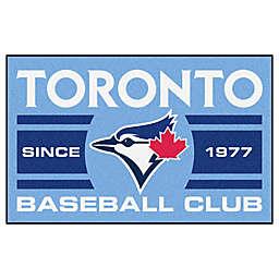 "MLB Toronto Blue Jays 19"" x 30"" Light Blue Uniform Mat"