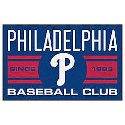 "MLB Philadelphia Phillies 19"" x 30"" Navy Uniform Mat"