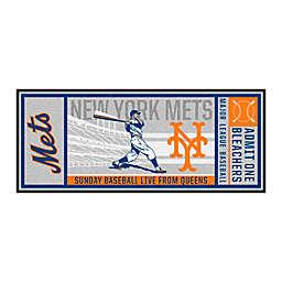 MLB New York Mets 2014 Retro Ticket 2'6 x 6' Runner