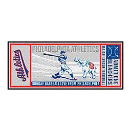 MLB Oakland A's 1954 Philadelphia A's Retro Ticket 2'6 x 6' Runner